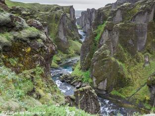 Islàndia, 2013. El canyó Fjaðrárgljúfurr