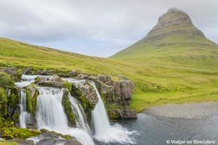 Islàndia, 2013. La muntanya Kirkjuffell a la península Snæfellsnes