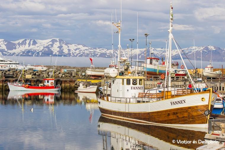 Húsavik harbour