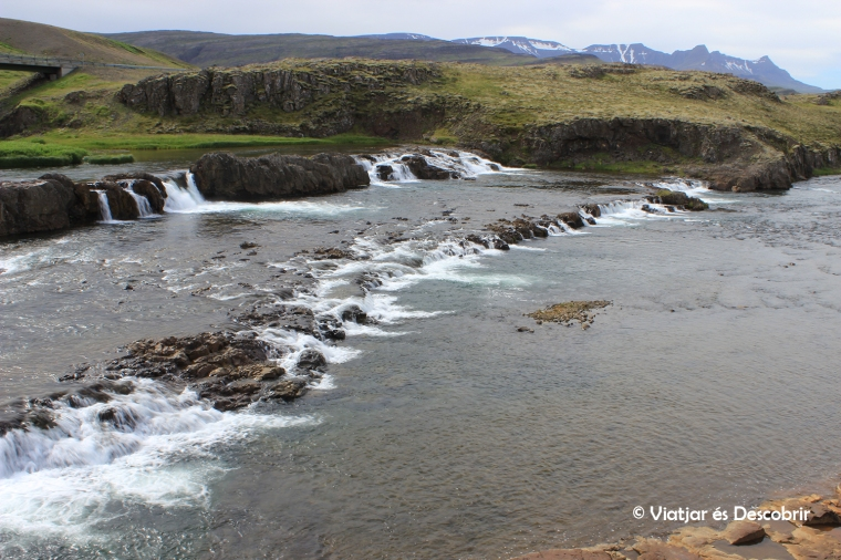 A les cascades Troll no hi trobem salmons...