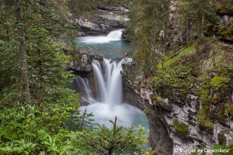 Moltíssimes cascades es van succeïnt al llarg del recorregut.