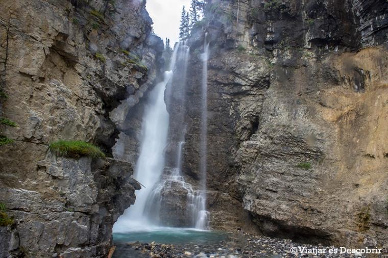 Al arribar a les Upper falls plou moltíssim.