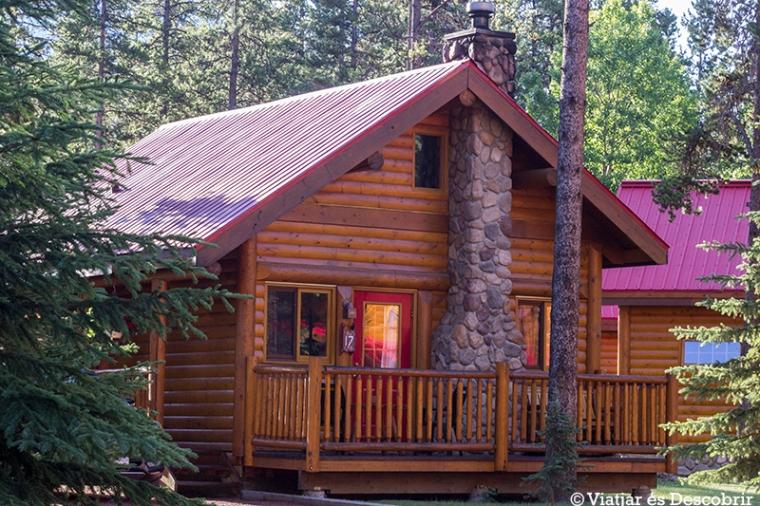 La nostre caseta a Baker Creek.