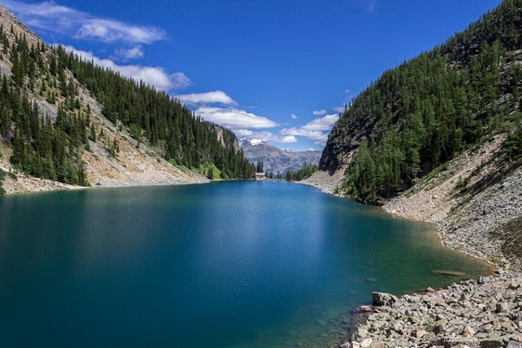 El Lake Agnes