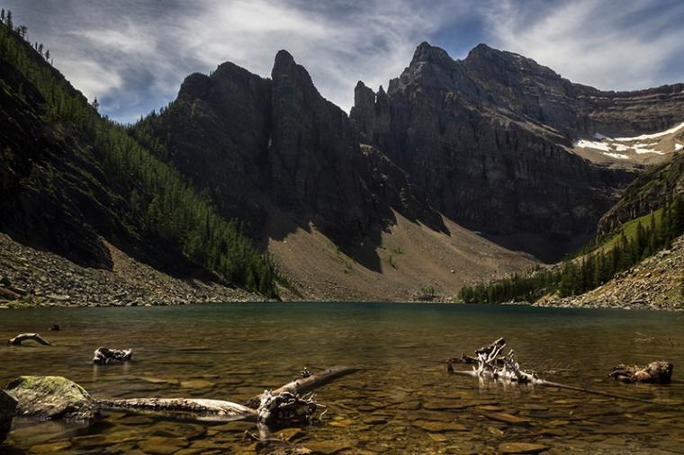 El Lake Agnes vist des de la Tea House