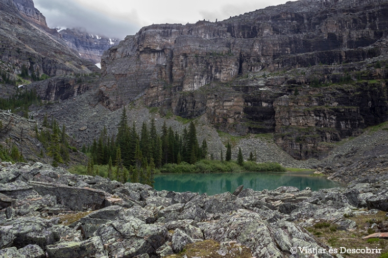 Durant el camí també veiem alguns llacs petits d'aigües cristal·lines.
