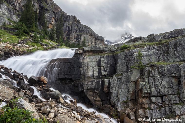 També veiem algunes cascades. L'entorn és preciós!