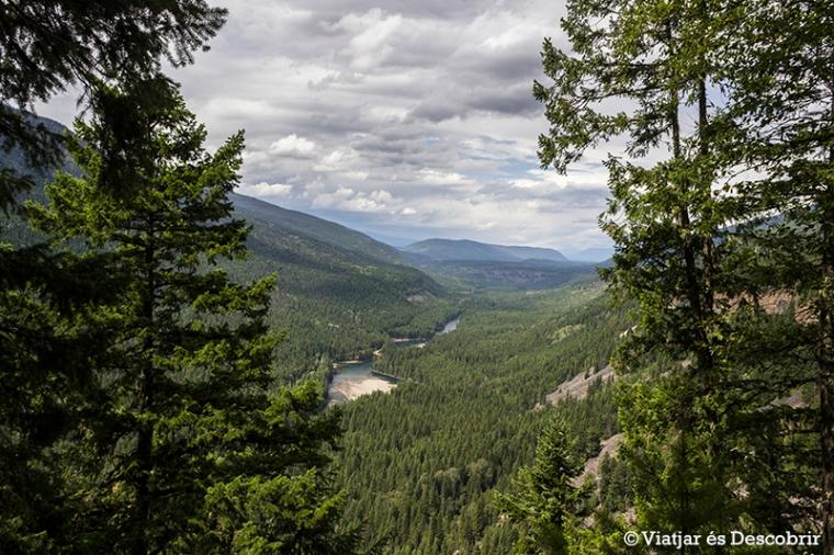 Vistes des del Shaden Viewpoint.