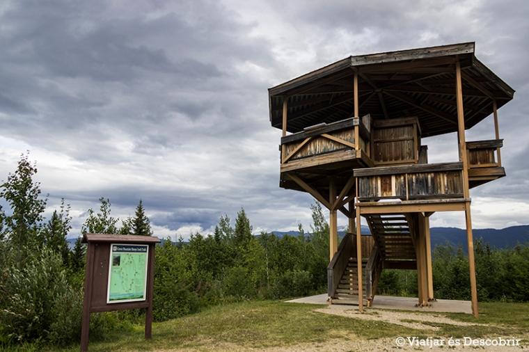 Des de la Green Mountain Viewing Tower, es té una bona vista panoràmica.