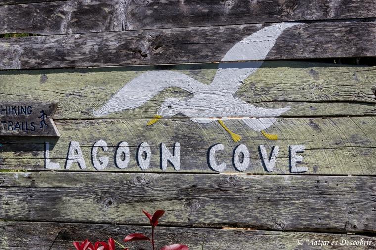 Durant la tornada, fem una parada al Lagoon Cove.