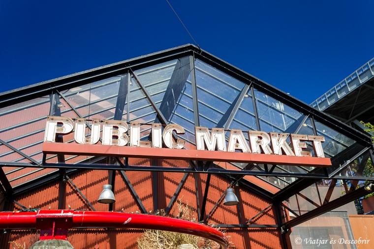 El Public Market de la Granville Island ens deixa fascinats.