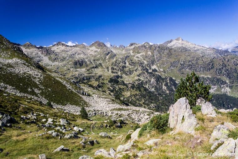 A l'altra banda del Coth de Sendrosa s'hi amagava aquest paisatge. Idíl·lic!