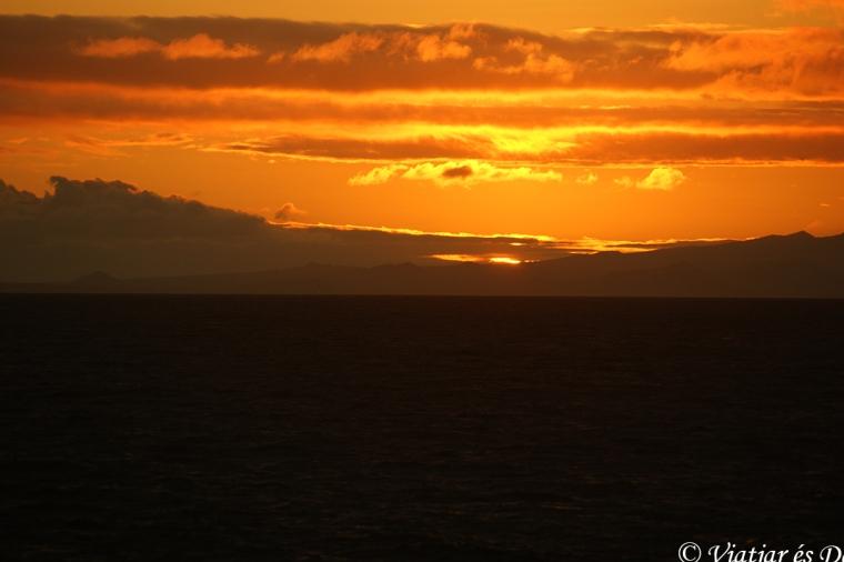 Galàpagos posta de sol