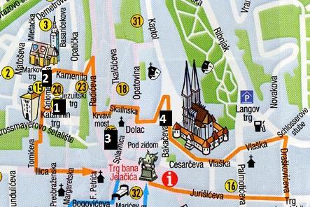 Mapa de la Ciutat Alta