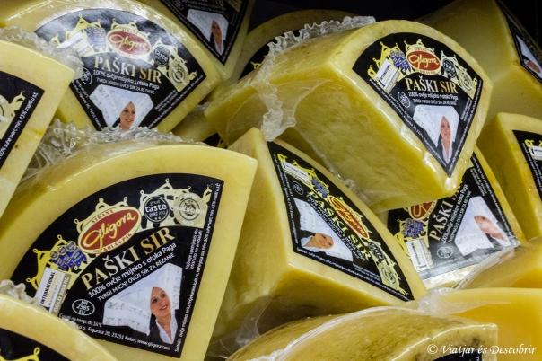 A Kolau, el formatge de la formatgeria Sirana Gligora és espactacular.