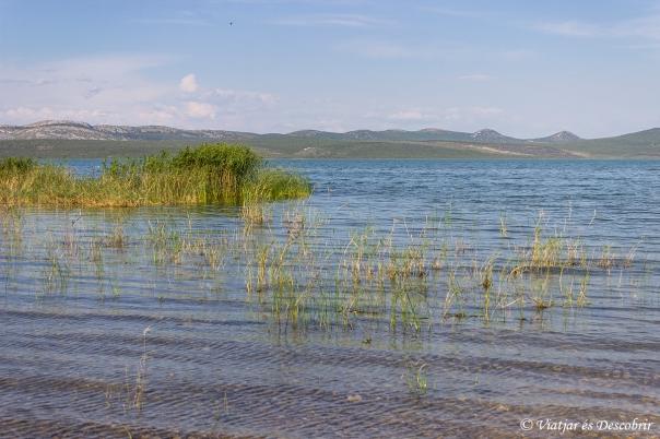 El Llac de Vrana és el més gran del país. Enorme!