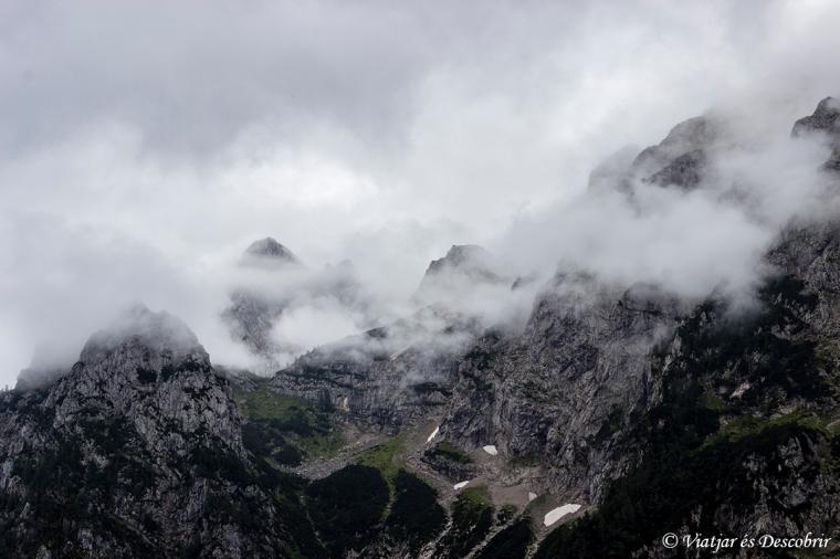 Vistes de les muntanyes des de la Logarska Valley