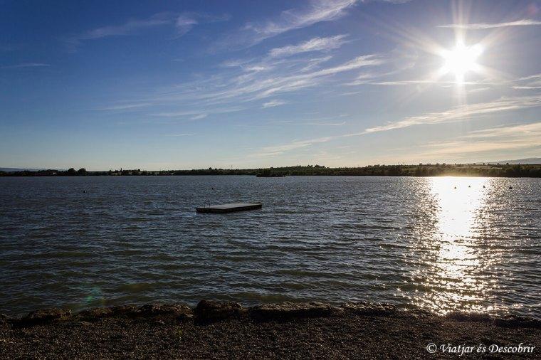 El llac de Jouarres (Homps)