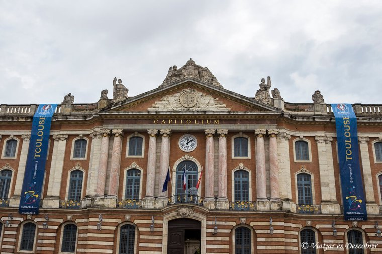 El Capitole, l'ajuntament de Toulouse.