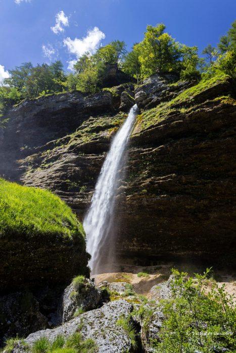 Cascades Eslovenia. Pericnik