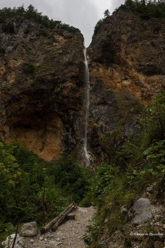 La cascada Rinka
