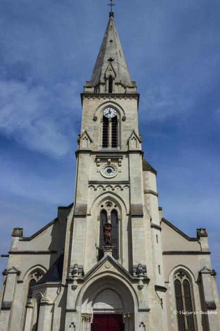 esglesia poble rural França