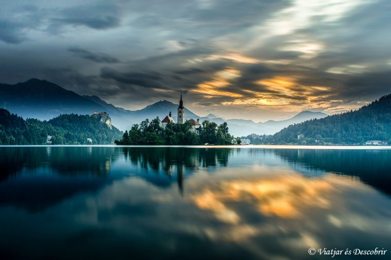 fotografiant el Llac Bled