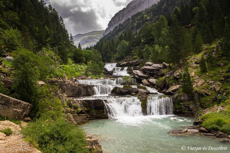 les famoses cascades gradas de soaso