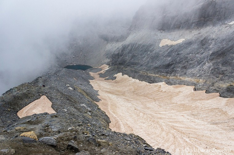el llac gelat d'ordesa i mont perdut