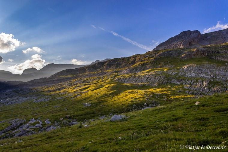 paisatges que envolten el refugi de goriz