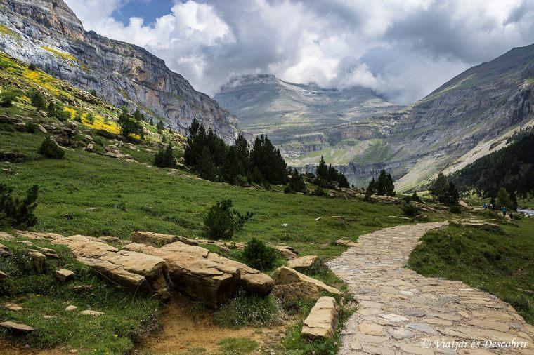recorregut fins al cim del Mont Perdut