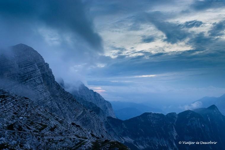 posta de sol a eslovenia