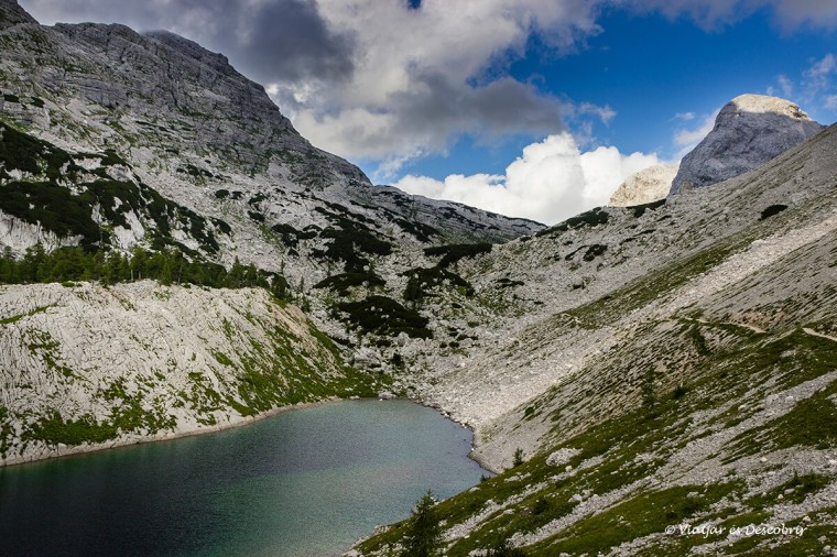 llac al parc nacional del triglav