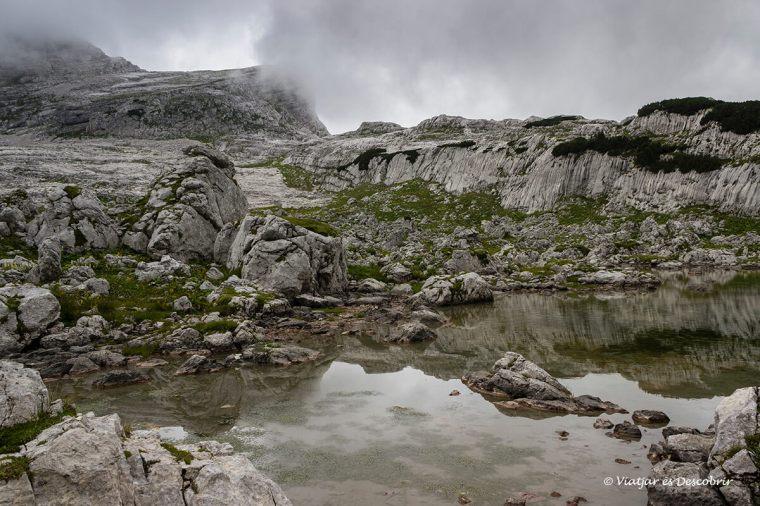 llacs i boira al triglav