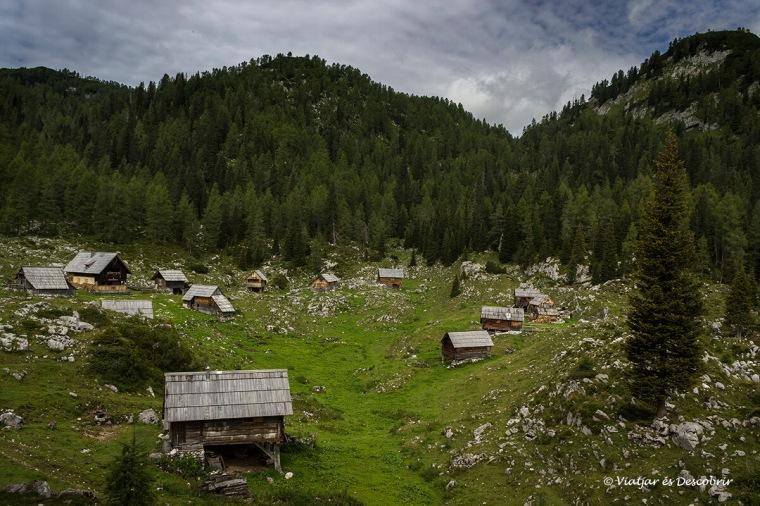 senderisme per muntanyes eslovenia
