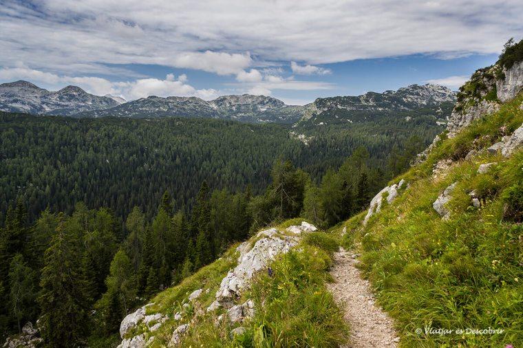 vistes panoràmiques durant l'excursio per eslovenia