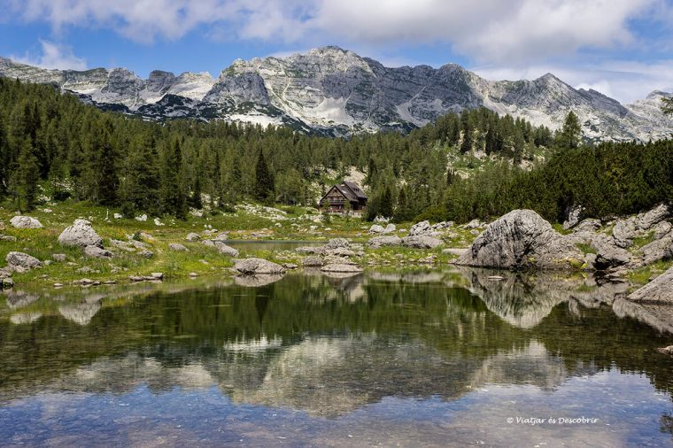 la vall dels set llacs al triglav
