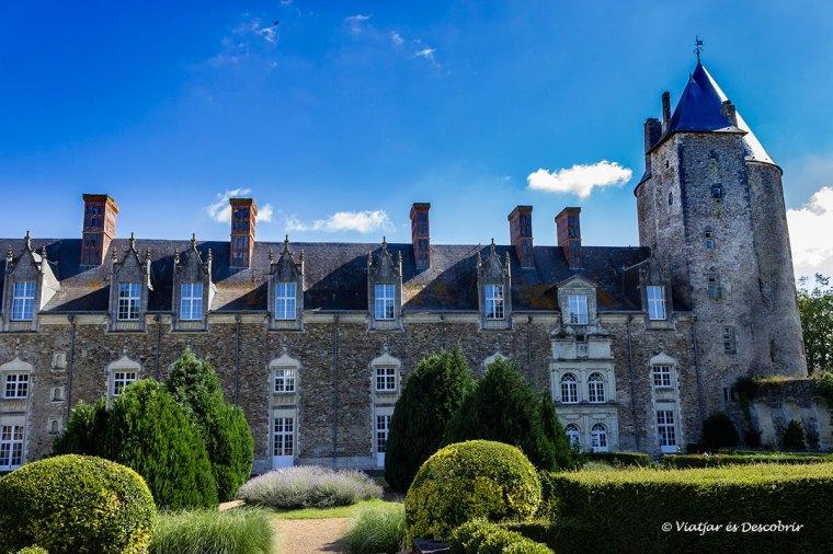 el castell de bouin és un edifici amb molta història