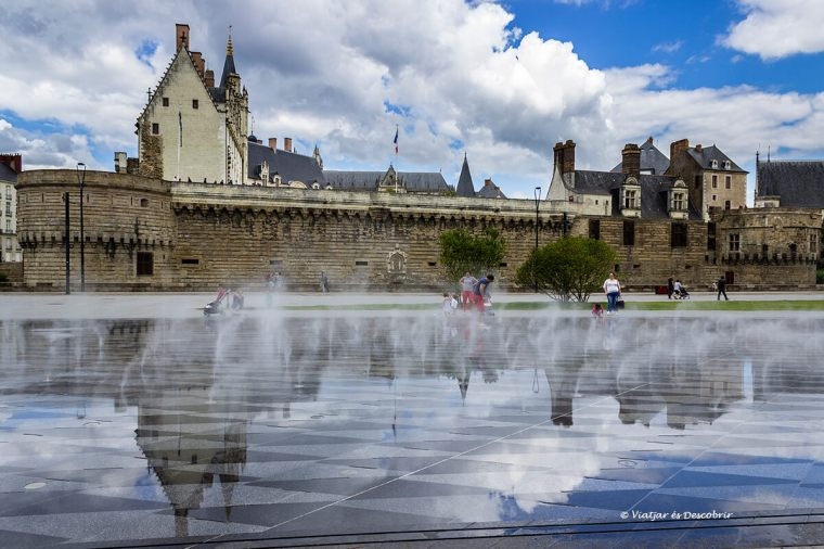 el castell de nantes és un dels símbols de la ciutat