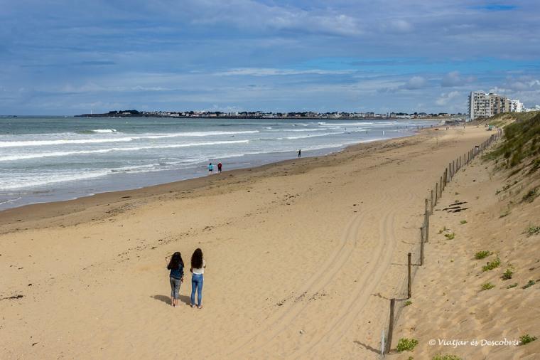 les platges de la costa atlàntica francesa són precioses