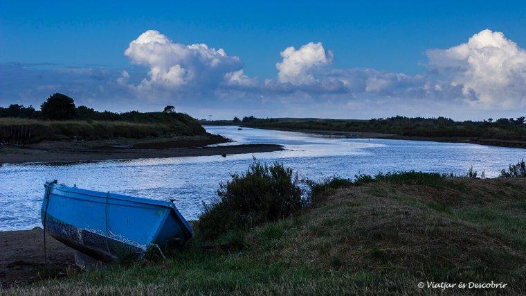 paisatges rurals costa atlàntica en bicicleta