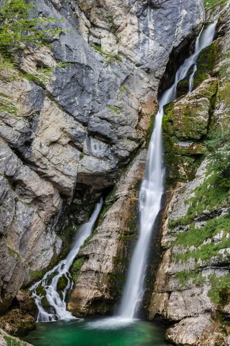 La cascada Savika