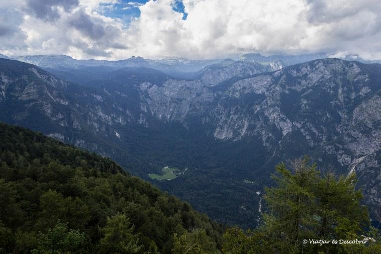 panoràmica del parc nacional triglav des del vogel