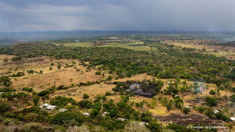 Preciosa vista panoràmica de Sri Lanka