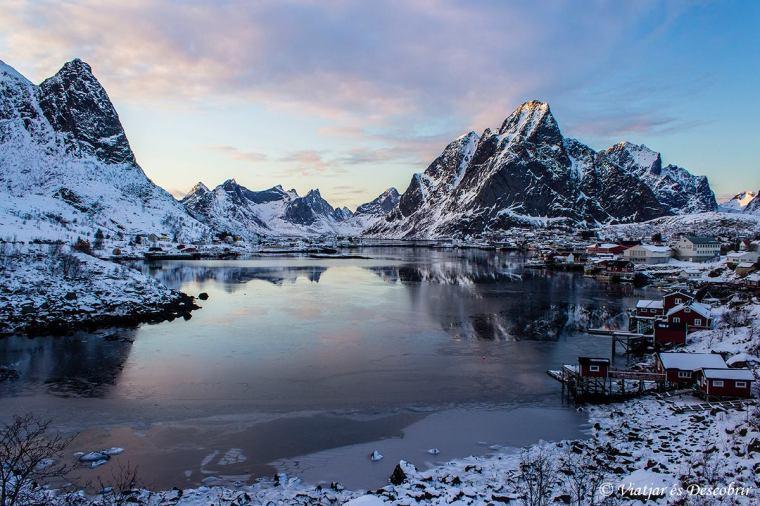 Reine és un dels pobles més famoses de les Illes Lofoten