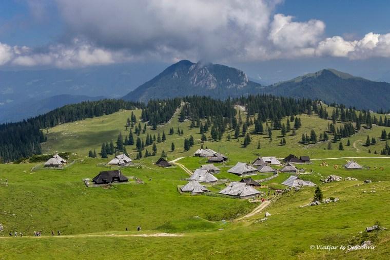 les cases dels pastors de velika planina