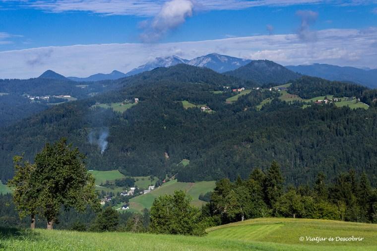 paisatge rural entre el triglav n.p. i velika planina