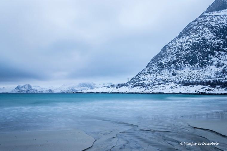 les platges a les illes Lofoten són espectaculars