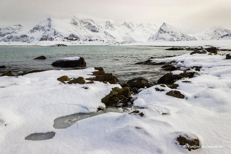 al viatge a les illes lofoten veiem paisatges espectaculars