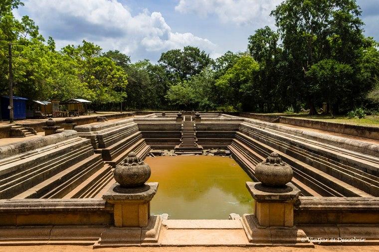 Els Kuttam Pokun mostren el sistema de les piscines de la ciutat antiga.